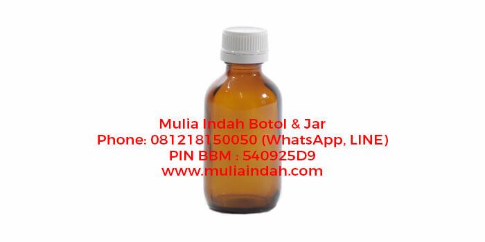 Botol Kaca Amber 60ml